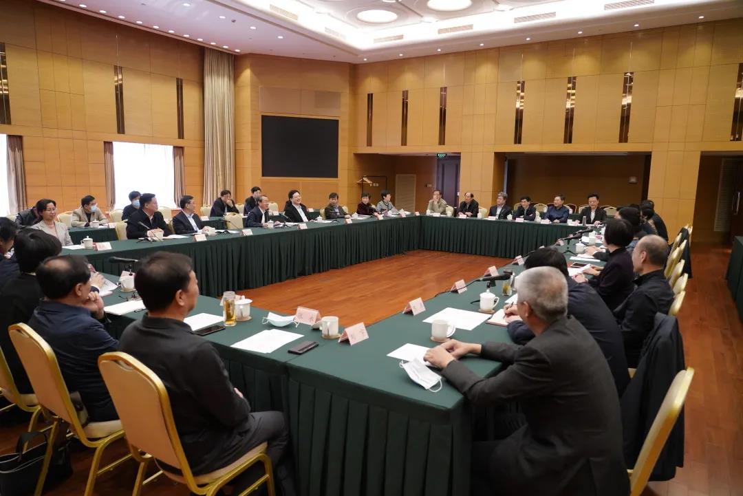 北京市政协主席吉林率市政协考察团赴上海市学习考察