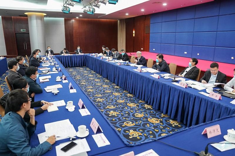 民盟中央主席丁仲礼率调研组赴广西开展考察调研