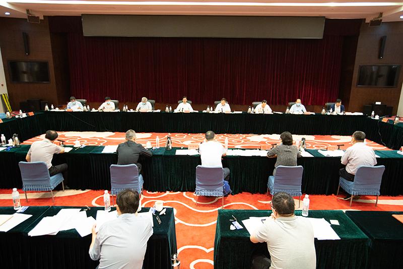 全国工商联召开定点帮扶工作领导小组全体会议