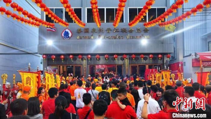 泰国晋江联合总会拜谒妈祖