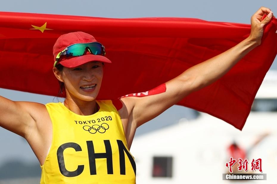 第二十金!卢云秀东京奥运会女子帆板RS:X级夺冠