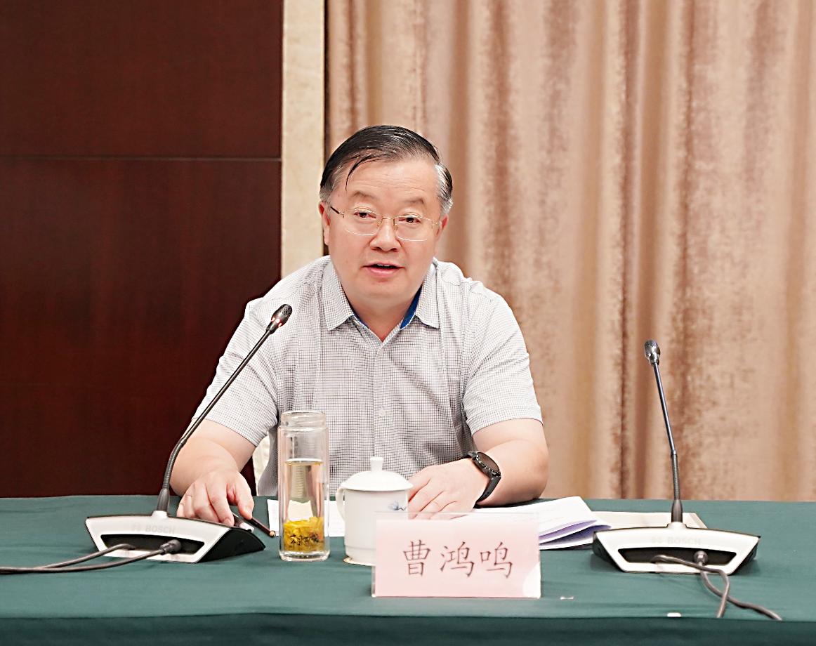 曹鸿鸣赴江西开展中国发展论坛前期调研