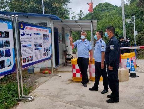 云南文山边境管理支队民警:青春在老山脚下打转