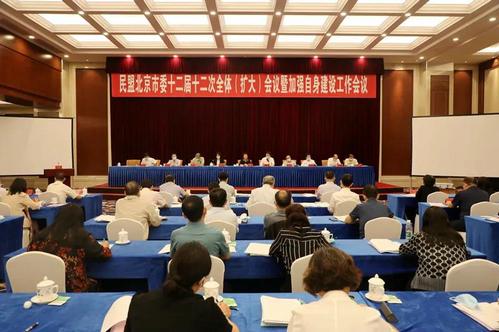 民盟北京市委召开第十二次全会暨加强自身建设工作会