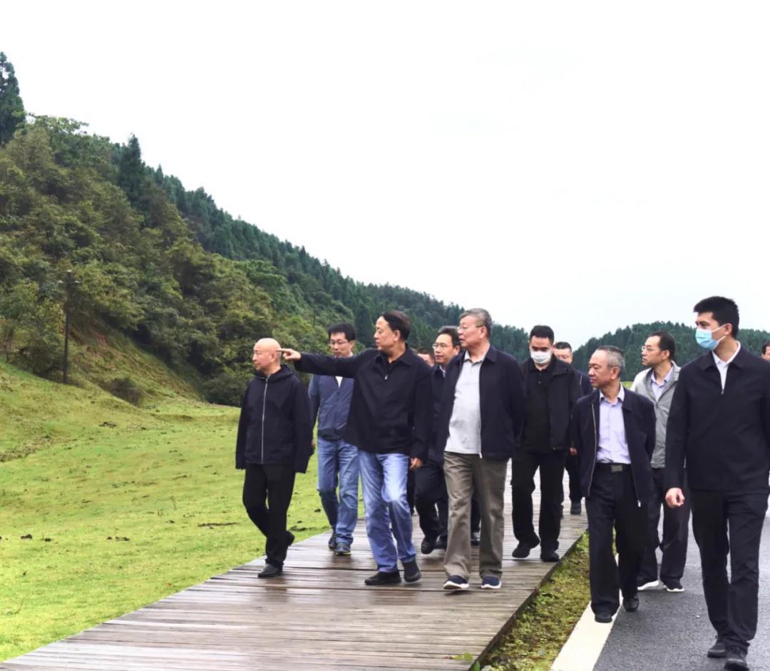 """武维华率队赴重庆调研""""武陵山区草地资源保护"""""""