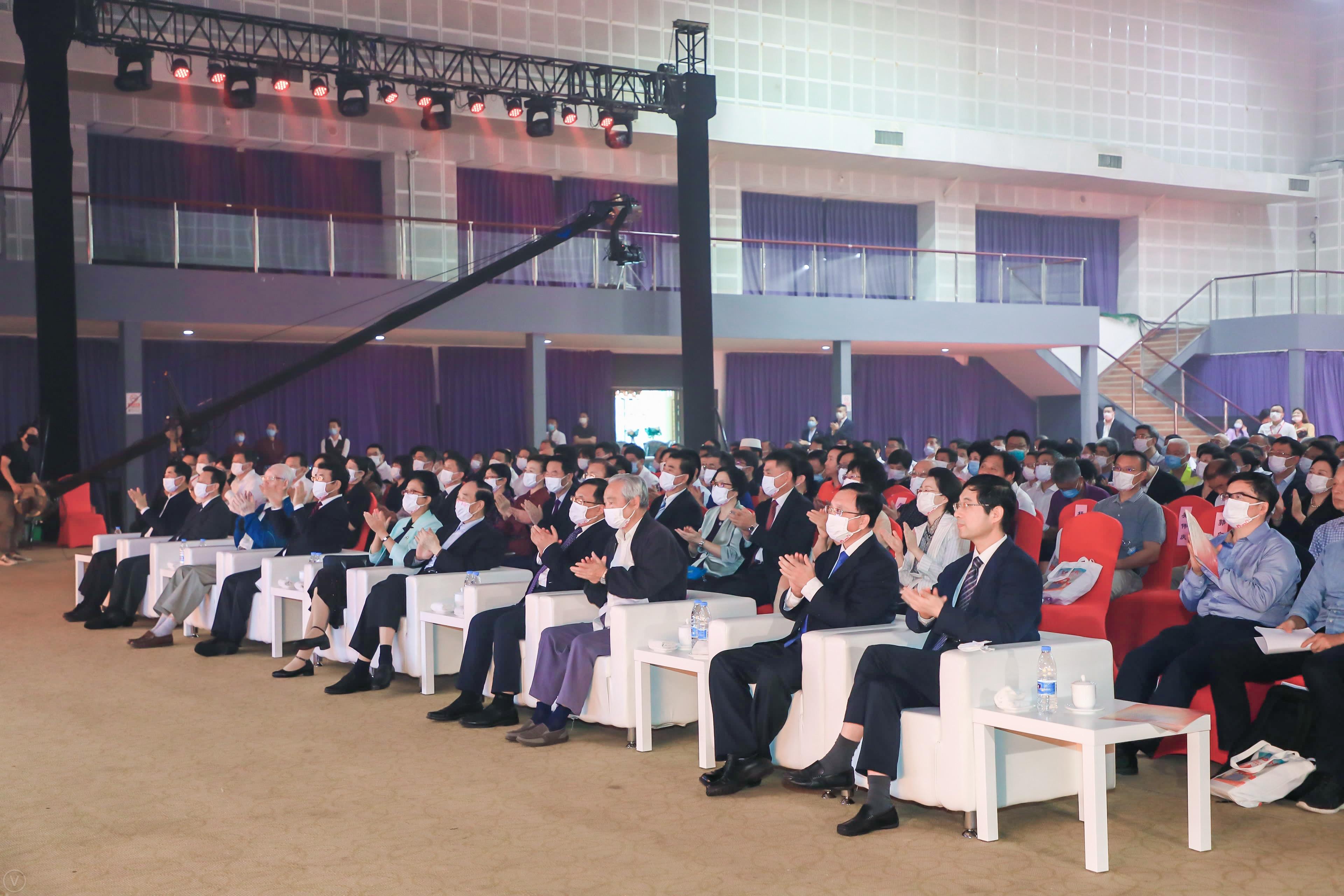 庆祝中国共产党成立100周年暨海淀区政协成立40周年大会召开