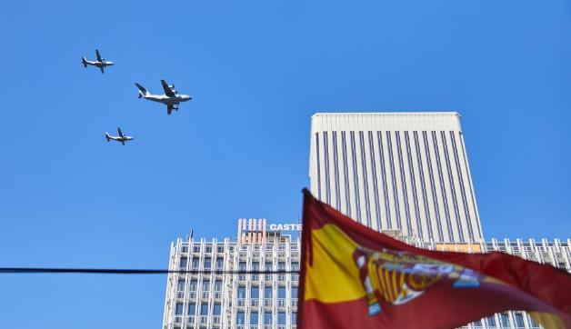 西班牙庆祝国庆日