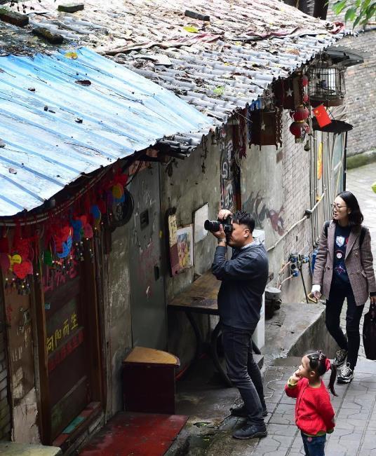 重庆山城巷受青睐
