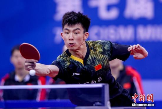热文:【军运会】中国八一队击败朝鲜队斩获乒乓球男子团体赛冠军